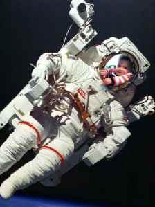Emma the astronaut