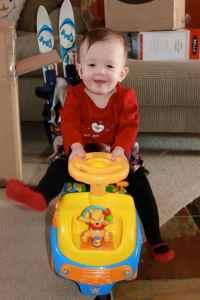 Loving the Pooh car
