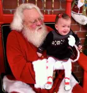 Not loving Santa