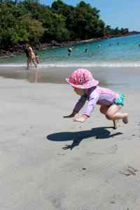 Walking on the beach is hard, but at least it's a soft landing