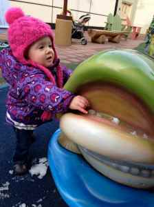 You didn't like that there was snow in the fish's mouth.