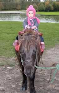 First horse ride at Versailles