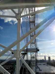 London Eye - the structure