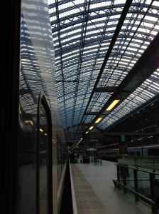 Beautiful St. Pancras train station, where we caught EuroStar to Paris (also where our apartment was)