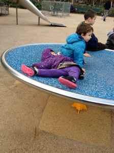 Spinning playground thing