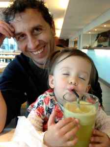 Blissed out by the juice at Wagamama