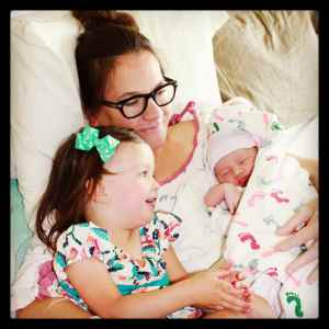 Your sister was so happy to finally meet you, and I was in heaven to have my arms around my two girls for the first time.